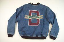 90s VTG BOSS Girl JEAN Denim Jacket Button HIP HOP Made vintage LARGE