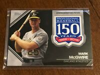 2019 Topps Baseball 150th Anniversary Patches - Mark McGwire - Oakland Athletics