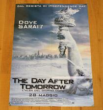 THE DAY AFTER TOMORROW poster manifesto Alba del Giorno Dopo Dennis Quaid