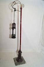 BING Spur 1 Bogenlampe mit Kettenzug  für Kerze