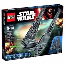 NIB MINT LEGO STAR WARS Kylo Ren's Command Shuttle 75104 Discontinued NEW SEALED
