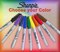 Sharpie Marker - fine point permanent - Choice of Color - quantity 1