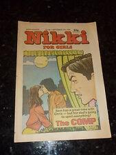 NIKKI for Girls Comic - Issue No 83 - Date 20/09/1986 - UK Comic