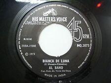"""AL BANO MQ 2073  BLACK RARE SINGLE 7"""" 45 RPM INDIA INDIAN VG"""