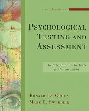 Psychological Testing and Assessment : An Introduction to Tests and.