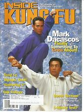 Inside Kung-Fu January 2002 Mark Dacascos/Cung Le/ Gathering 2/ Taiji College