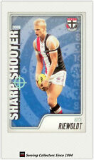 2009 AFL Herald Sun Cards Sharp Shooters Subset SS13 Nick Riewoldt (St. Kilda)