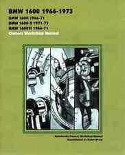Bmw 1600 1966-73 Owners Workshop Manual (Autobooks) [P
