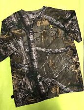 Scent Blocker Size XL Men's Short Sleeve T-Shirt Real Tree Camouflaged Shirt NEW