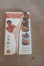 UK VHS HONG KONG  modern Kung Fu girl action MAGNIFICENT WARRIORS Michelle Yeoh
