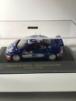 IXO 1/43 Diecast Peugeot 307 WRC Rally Car Monte Carlo 2006 Manfred Stohl