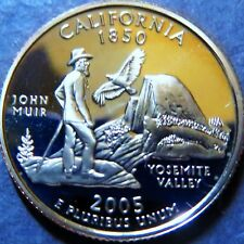">CALIFORNIA 2005-S  STATE QUARTER DOLLAR ""PROOF"" 2005 San Francisco Mint Coin #3"