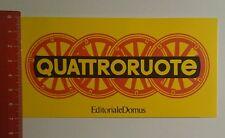 ADESIVI/Sticker: QUATTRORUOTE EDITORIALE DOMUS (15101644)