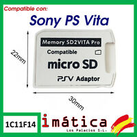 ADAPTADOR DE TARJETA MICRO SD PARA SONY PS VITA 1000 2000 SD2VITA PRO MEMORY