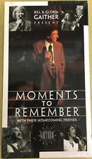 Bill & Gloria Gaither Present - Moments to Remember - 1996 - Unopened VHS Tape