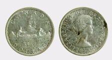 pcc2039_7) CANADA - SILVER 1 DOLLAR 1959   - ELIZABETH II