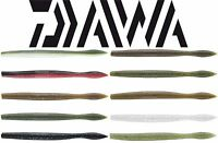 "Daiwa Yamamoto Neko Fat Worm 5"" 10 Pk - Bass Fishing Worm Soft Plastic Lure Bait"