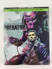 Predator (Blu-ray Disc, SteelBook Includes Digital Copy) Limited Edition NEW