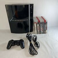 Sony PlayStation 3 CECHK01 80GB Console Tested With Games