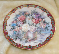 M1090-Magic Makers Collectors Plate By Lena Liu'S 1993 1st Issue Flowers Fairies