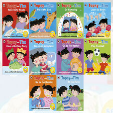 Jean Adamson Topsy & Tim Series 10 Books Collection Topsy and Tim Go Camping NEW