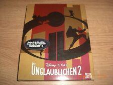 Die Unglaublichen 2 Blu-Ray 3D Steelbook Limited Edition NEU