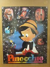Vintage Pinnochio original poster The Walt Disney Company  6471