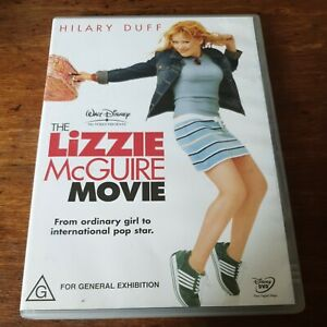 The Lizzie McGuire Movie DVD R4 Like New! FREE POST