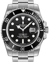 Rolex Submariner Date 40mm Steel Ceramic Mens Watch Box/Papers NEW 2018 116610
