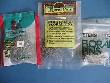 """3 packs Nos Greening Floral Pins 1.75"""" Darice Teters Panacea Brands Total 150"""