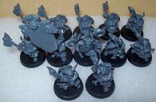 Warhammer Age of Sigmar Dwarfs / Duardin Warriors with Great Weapons x12