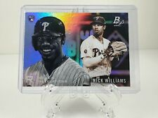 Bowman Platinum 2018 Baseball Card # RR-17 Nick Williams RC Rookie Revelations