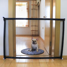 Hot Magic Mesh Pet Dog Gate Door Barrier Safe Guard Fence Enclosure Easy Install