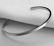 Bracciale Personalizzato Uomo Donna Braccialetto Acciaio Unisex Rigido Incisione