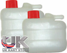 Overflow / Recovery Kart Tank / Bottle with Red Cap x 2 New Best Price