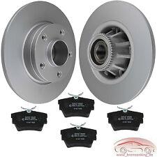 Bremsen Set HINTEN Bremsscheiben beschichtet + Beläge Opel Vivaro A 1.9 D