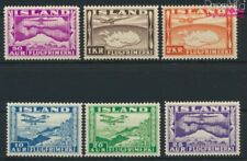 Islande 175-180 neuf 1934 timbres de poste aérienne (9077380