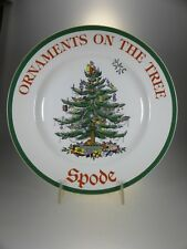 Spode Christmas Tree Dinner Plate (Special Design) MADE IN ENGLAND