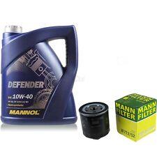 Mann Filtro Dell'olio Olio motore 10w-40 VW GOLF IV 1j1 V 1k1 POLO 9n _ SEAT IBIZA V 6j5
