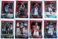 2019-20 NBA Hoops Red Explosion Basketball Cards Complete Your Set U Pick /15 SP
