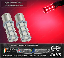 LED SMD BAY15D 1157 380 P21/5W Xenon Red Car Rear Lamps Tail Lights Brake Bulbs
