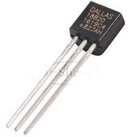 10PCS DS18B20 18B20 TO-92 1 Wire Digital Temperature Sensor IC
