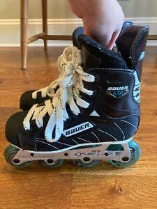 Bauer LTD Edition TUUK Performance ONE UP Inline Hockey Skates US 2R