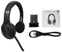 Logitech H800 Wireless Computer Headset Noise Cancellation 981-000337 Black New