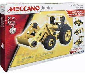 Meccano Junior Truckin' Tractor 5+ Years STEM New Boxed Uk Seller 🇬🇧
