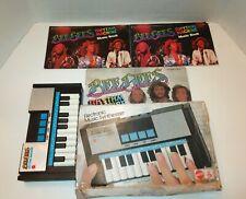 Vintage 1978 Bee Gees Kraftwerk Mattel Rhythm Machine Synthesizer KeyboardWorks
