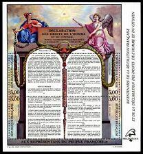 Bloc Feuillet BF11 - Bicentenaire Révolution Droits de L'Homme - 1989