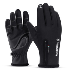 Winter Warm Gloves Touchscreen Windproof Non-Slip Driving Ski Gloves Waterproof