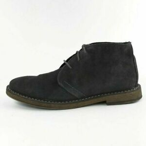 Joseph Abboud Travis Gray Suede Leather Lace Up Chukka Boots Mens Size 12