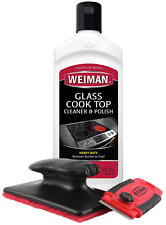Glass Ceramic Stove Top Cooktop Surfaces Cleaner Scraper Cleaning And Polish Kit